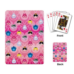 Alice In Wonderland Playing Card