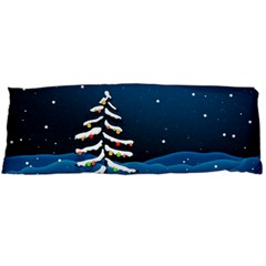 Christmas Xmas Fall Tree Body Pillow Case (Dakimakura)