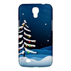Christmas Xmas Fall Tree Samsung Galaxy Mega 6.3  I9200 Hardshell Case