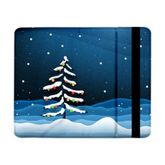 Christmas Xmas Fall Tree Samsung Galaxy Tab Pro 8.4  Flip Case