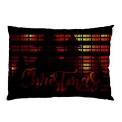 Christmas Advent Gloss Sparkle Pillow Case
