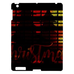 Christmas Advent Gloss Sparkle Apple iPad 3/4 Hardshell Case