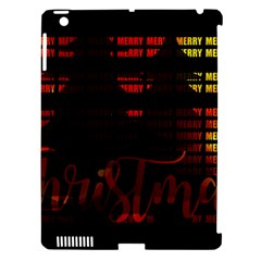 Christmas Advent Gloss Sparkle Apple iPad 3/4 Hardshell Case (Compatible with Smart Cover)
