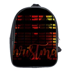 Christmas Advent Gloss Sparkle School Bags (XL)