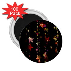 Christmas Star Advent Golden 2.25  Magnets (100 pack)