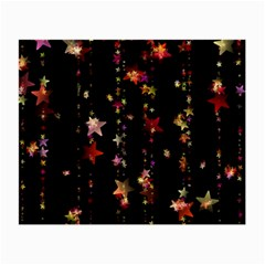 Christmas Star Advent Golden Small Glasses Cloth