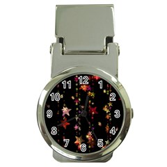 Christmas Star Advent Golden Money Clip Watches