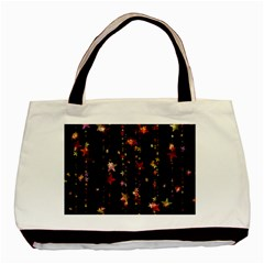 Christmas Star Advent Golden Basic Tote Bag (Two Sides)