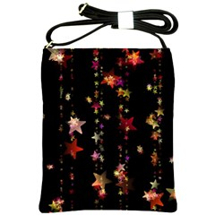Christmas Star Advent Golden Shoulder Sling Bags