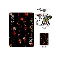 Christmas Star Advent Golden Playing Cards 54 (Mini)