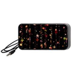 Christmas Star Advent Golden Portable Speaker (Black)