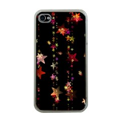 Christmas Star Advent Golden Apple iPhone 4 Case (Clear)