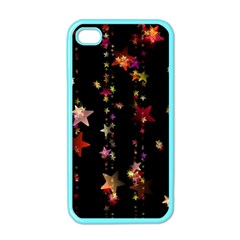 Christmas Star Advent Golden Apple iPhone 4 Case (Color)
