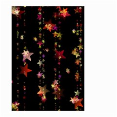 Christmas Star Advent Golden Small Garden Flag (Two Sides)