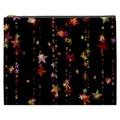 Christmas Star Advent Golden Cosmetic Bag (XXXL)