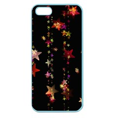 Christmas Star Advent Golden Apple Seamless iPhone 5 Case (Color)