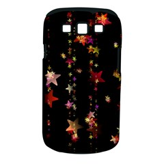 Christmas Star Advent Golden Samsung Galaxy S III Classic Hardshell Case (PC+Silicone)