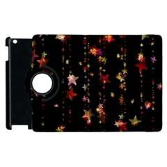 Christmas Star Advent Golden Apple iPad 2 Flip 360 Case