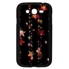 Christmas Star Advent Golden Samsung Galaxy Grand DUOS I9082 Case (Black)
