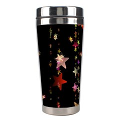 Christmas Star Advent Golden Stainless Steel Travel Tumblers