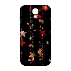 Christmas Star Advent Golden Samsung Galaxy S4 I9500/I9505  Hardshell Back Case