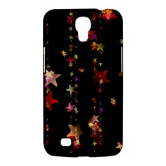 Christmas Star Advent Golden Samsung Galaxy Mega 6.3  I9200 Hardshell Case