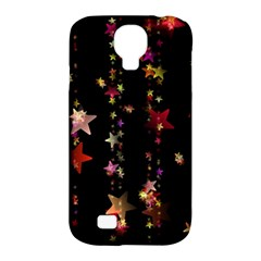Christmas Star Advent Golden Samsung Galaxy S4 Classic Hardshell Case (PC+Silicone)