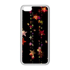 Christmas Star Advent Golden Apple iPhone 5C Seamless Case (White)