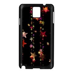 Christmas Star Advent Golden Samsung Galaxy Note 3 N9005 Case (Black)
