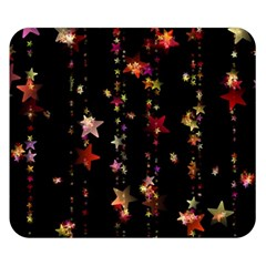 Christmas Star Advent Golden Double Sided Flano Blanket (Small)