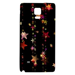 Christmas Star Advent Golden Galaxy Note 4 Back Case
