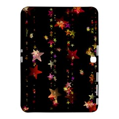 Christmas Star Advent Golden Samsung Galaxy Tab 4 (10.1 ) Hardshell Case