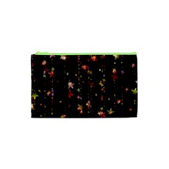 Christmas Star Advent Golden Cosmetic Bag (XS)