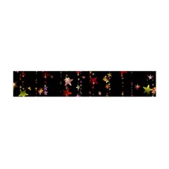 Christmas Star Advent Golden Flano Scarf (Mini)