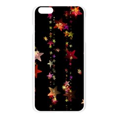 Christmas Star Advent Golden Apple Seamless iPhone 6 Plus/6S Plus Case (Transparent)