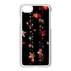 Christmas Star Advent Golden Apple iPhone 7 Seamless Case (White)