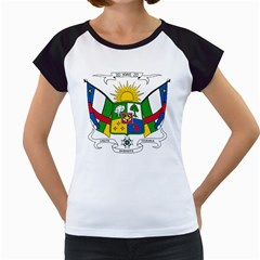 Coat of Arms of The Central African Republic Women s Cap Sleeve T