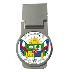 Coat of Arms of The Central African Republic Money Clips (Round)