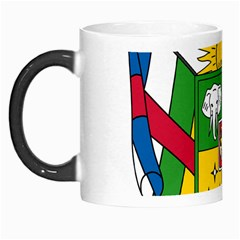 Coat of Arms of The Central African Republic Morph Mugs