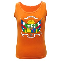 Coat of Arms of The Central African Republic Women s Dark Tank Top