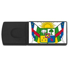 Coat of Arms of The Central African Republic USB Flash Drive Rectangular (4 GB)