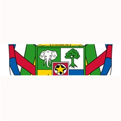 Coat of Arms of The Central African Republic Large Bar Mats