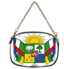 Coat of Arms of The Central African Republic Chain Purses (One Side)