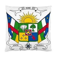 Coat Of Arms Of The Central African Republic Standard Cushion Case (one Side)