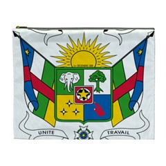 Coat of Arms of The Central African Republic Cosmetic Bag (XL)