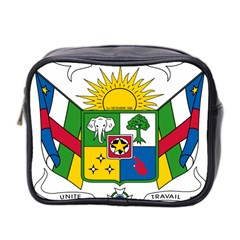Coat of Arms of The Central African Republic Mini Toiletries Bag 2-Side