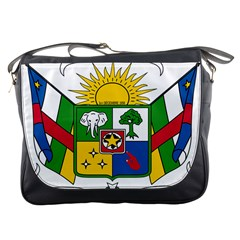 Coat of Arms of The Central African Republic Messenger Bags