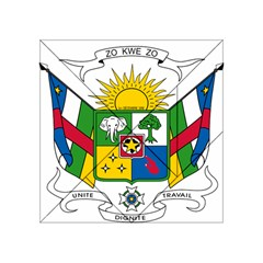 Coat of Arms of The Central African Republic Acrylic Tangram Puzzle (4  x 4 )