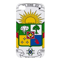 Coat of Arms of The Central African Republic Apple iPhone 4/4S Premium Hardshell Case
