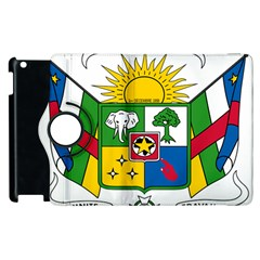 Coat of Arms of The Central African Republic Apple iPad 2 Flip 360 Case
